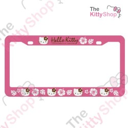 LICENSE PLATE FRAME: PINK KT