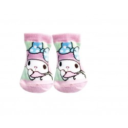 My Melody Baby Socks Ribbon