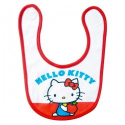 Hello Kitty Baby Bib Apple