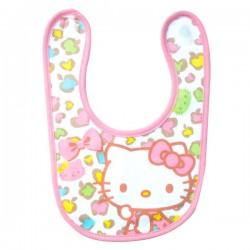 Hello Kitty Baby Bib Leopard