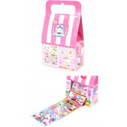 Hello Kitty Roll Stickers In Box: