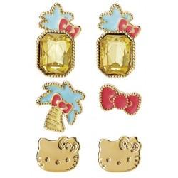 Hello Kitty Post Earrings: D&F