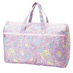 Little Twin Stars Fldable Ovrnght Bag:L Cld