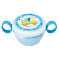The Round About Plastic Snack Bowl: Baby