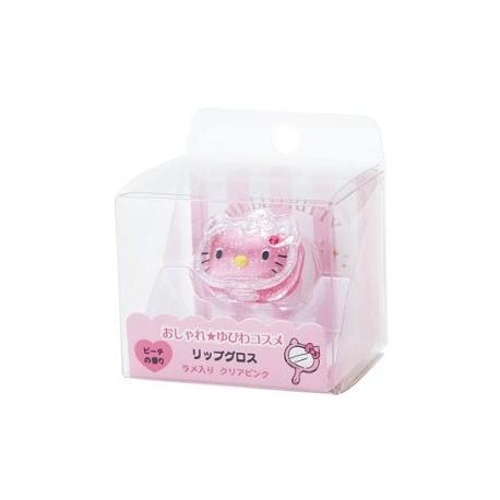 Hello Kitty Lip Gloss: Ring Pink