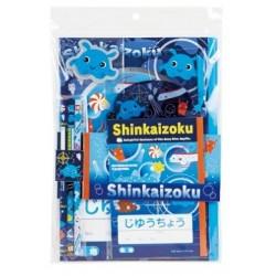 Shinkaizoku Pencils & Notebook Set