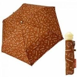 Pompompurin Folding Umbrella: Brown