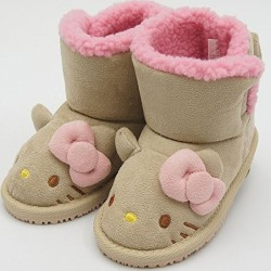 Hello Kitty Mouton Boots 15cm
