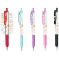 Sarasa Little Twin Stars 5pcs Ballpoint Pen Set