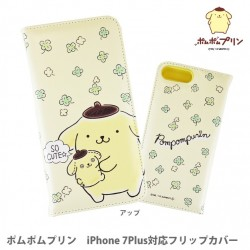 Pompompurin iPhone7Plus Case Flip Clover