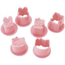 Hello Kitty Rice Ball Mold Set