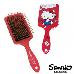 Hello Kitty Square Hair Brush Red