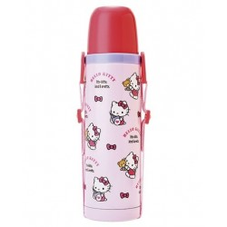 Hello Kitty Stainless Bottle: Pink Pattern