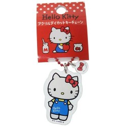 Hello Kitty D-Cut Keychain Ribbon