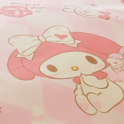 My Melody Bedding Set (Frilly Pink)
