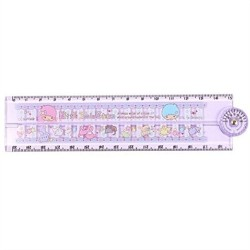 Little Twin Stars Folding Ruler