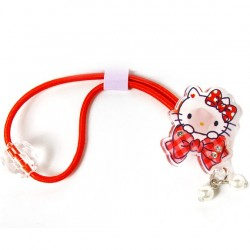 Hello Kitty Ponytail Holder: Clear