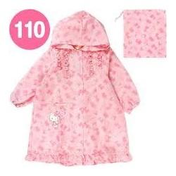 Hello Kitty Raincoat: 110 Strawberry
