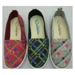 Hello Kitty Ladies Slip-on Check