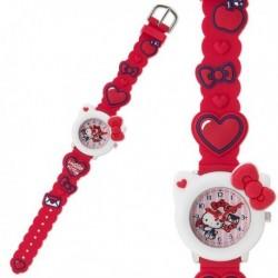 Hello Kitty Wristwatch: Rubber