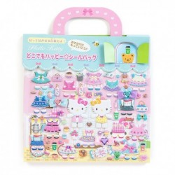 Hello Kitty Stickers In Bag