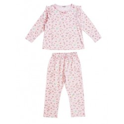 My Melody Long Sleeve Pajamas: Pink 110