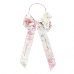 Little Twin Stars Ponytail Holder: Large Ribbon