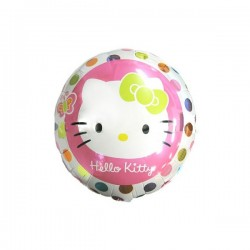 Hello Kitty Foil Balloon: Dot