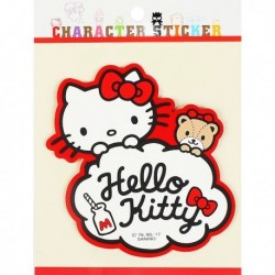 Hello Kitty Sticker:Rubber