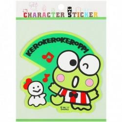 Keroppi Sticker:Rubber