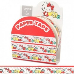 Hello Kitty Paper Tape:10 Fruits