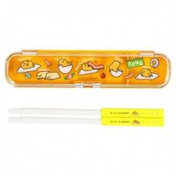 Gudetama Chopsticks & Case: