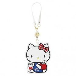 Hello Kitty Keyleash Id Badge Reel