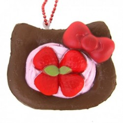 Hello Kitty Squishy Mascot Danish Choco