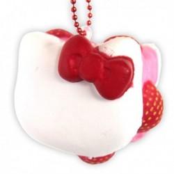 Hello Kitty Squishy Mascot Macaron Vanille