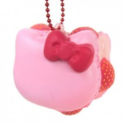 Hello Kitty Squishy Mascot Macaron Berry