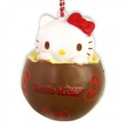 Hello Kitty Squishy Mascot Chocolate Red