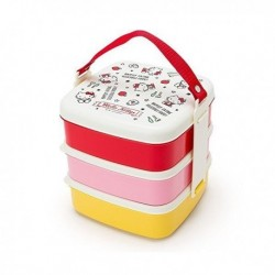 Hello Kitty 3-Tier Lunch Case: