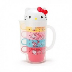 Hello Kitty Pitcher And Cups: D-Cut