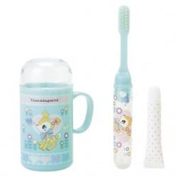 Hummingmint Travel Toothbrush Set: