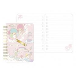 Little Twin Stars B7 Notebook:Rainbow