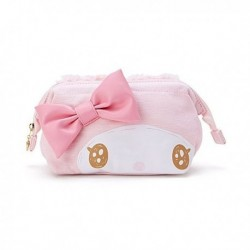 My Melody Face Diecut Pouch: Fluffy