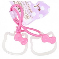 Hello Kitty Ponytail Holder: Frame Pink