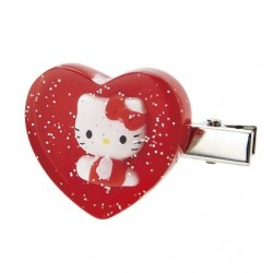 Hello Kitty Hair Clips: Mascot