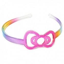 Hello Kitty Headband: Rainbow Ribbon