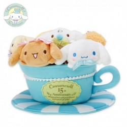 Cinnamoroll Petite Mascot Set: 15th Anniversary collection