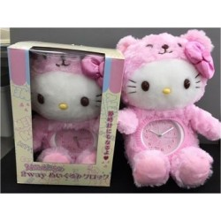 Hello Kitty Plush Clock