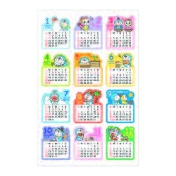 I'm Doraemon Sticker Calendar: 2018