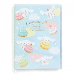 Cinnamoroll Schedule Notebook: A5 2018