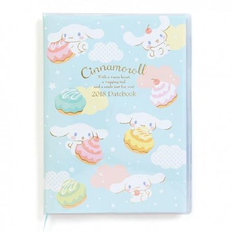 Cinnamoroll Schedule Notebook: A5 2018
